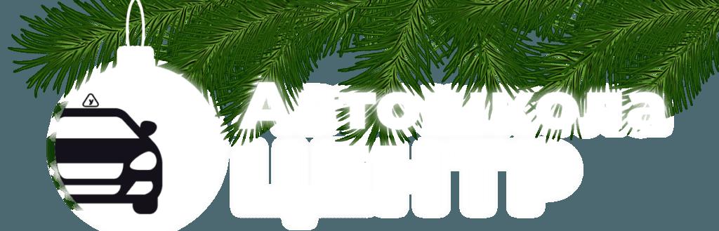 Логотип автошколы на новый год