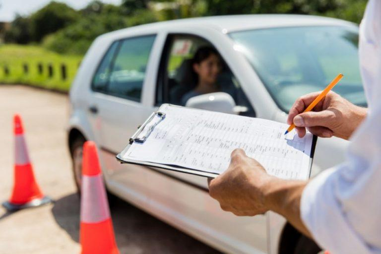 экзамен вождения